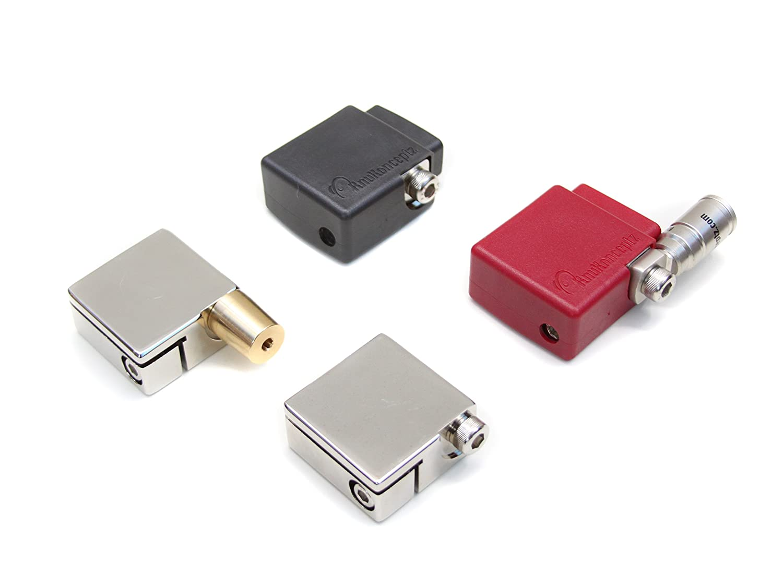 knukonceptz Ultimate Par de terminal de batería positivos y negativos con OEM adaptador de Post superior: Amazon.es: Coche y moto