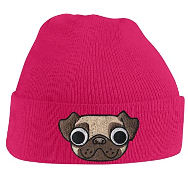 Amazon.com  Bang Tidy Clothing Skullies Beanie Hats for Women Pug ... d656645fabd