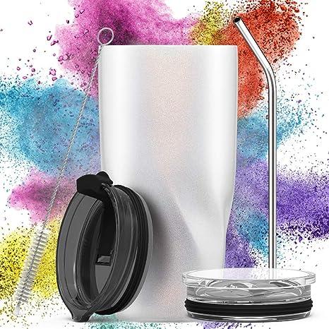 Avoalre Termo Café para Llevar de Acero Inoxidable 20OZ / 580ml | Taza Termo Cafe para Llevar sin BPA | Vaso Termico Cafe para Llevar | Tazas Termicas ...
