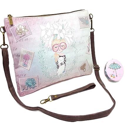 2e4f337d1a2 Sweet   Candy Bags Bolso Mujer Bolso Pequeño Bandolera Bolso de Hombro  Chica con Correa Larga