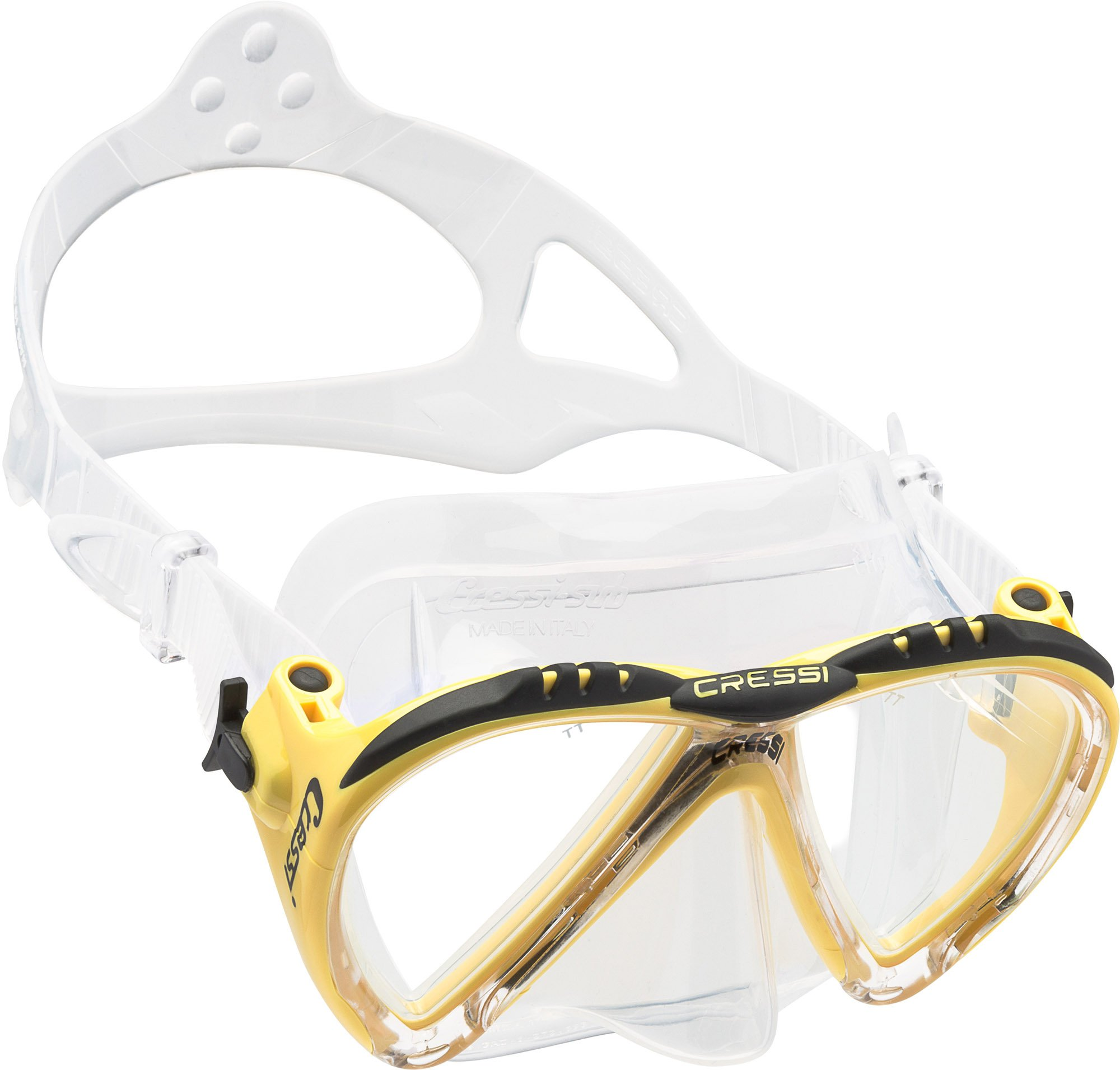 Cressi Lince, clear/yellow