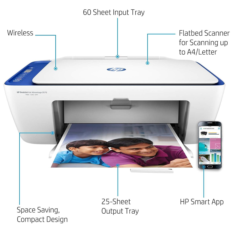 HP DeskJet Wireless Ink Advantage 2676 All-in-One Printer