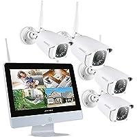 ANNKE Kit de Seguridad WiFi 1080P 8CH NVR
