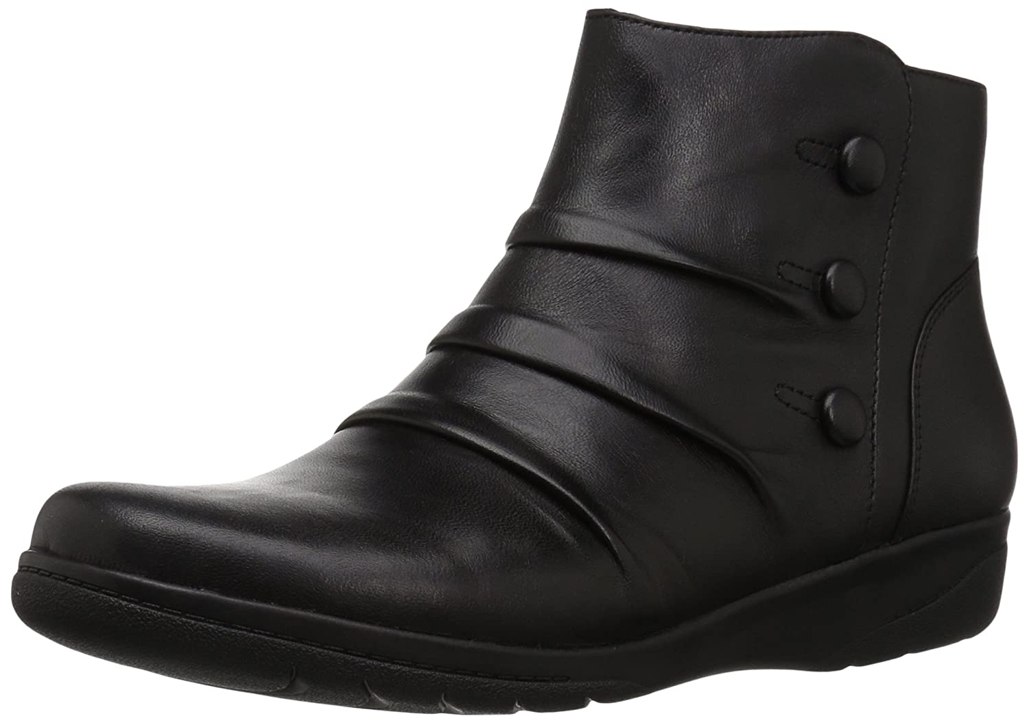 CLARKS Women's Cheyn Anne Boot B01N2TKNXN 8 B(M) US|Black