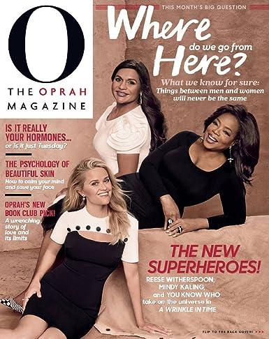 Oprah 12 Days Of Christmas.O The Oprah Magazine Amazon Com Magazines