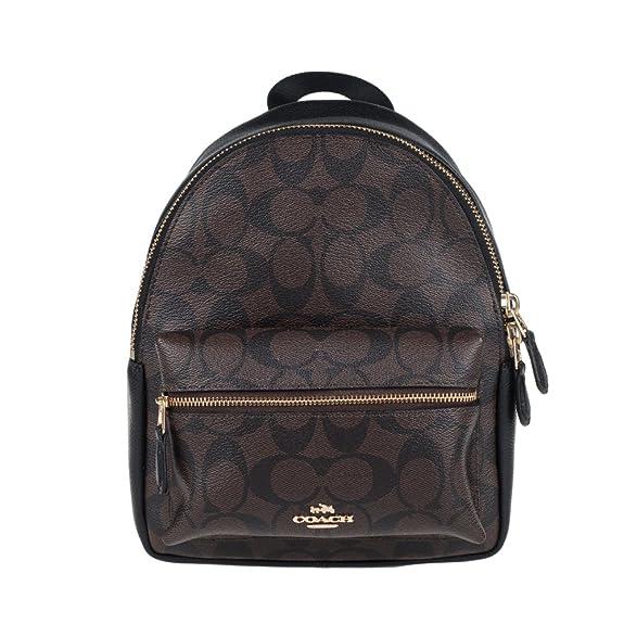 f1b24a09e0 Amazon.com: Coach Women's backpack F38302 (Dark brown IMAA8): Shoes