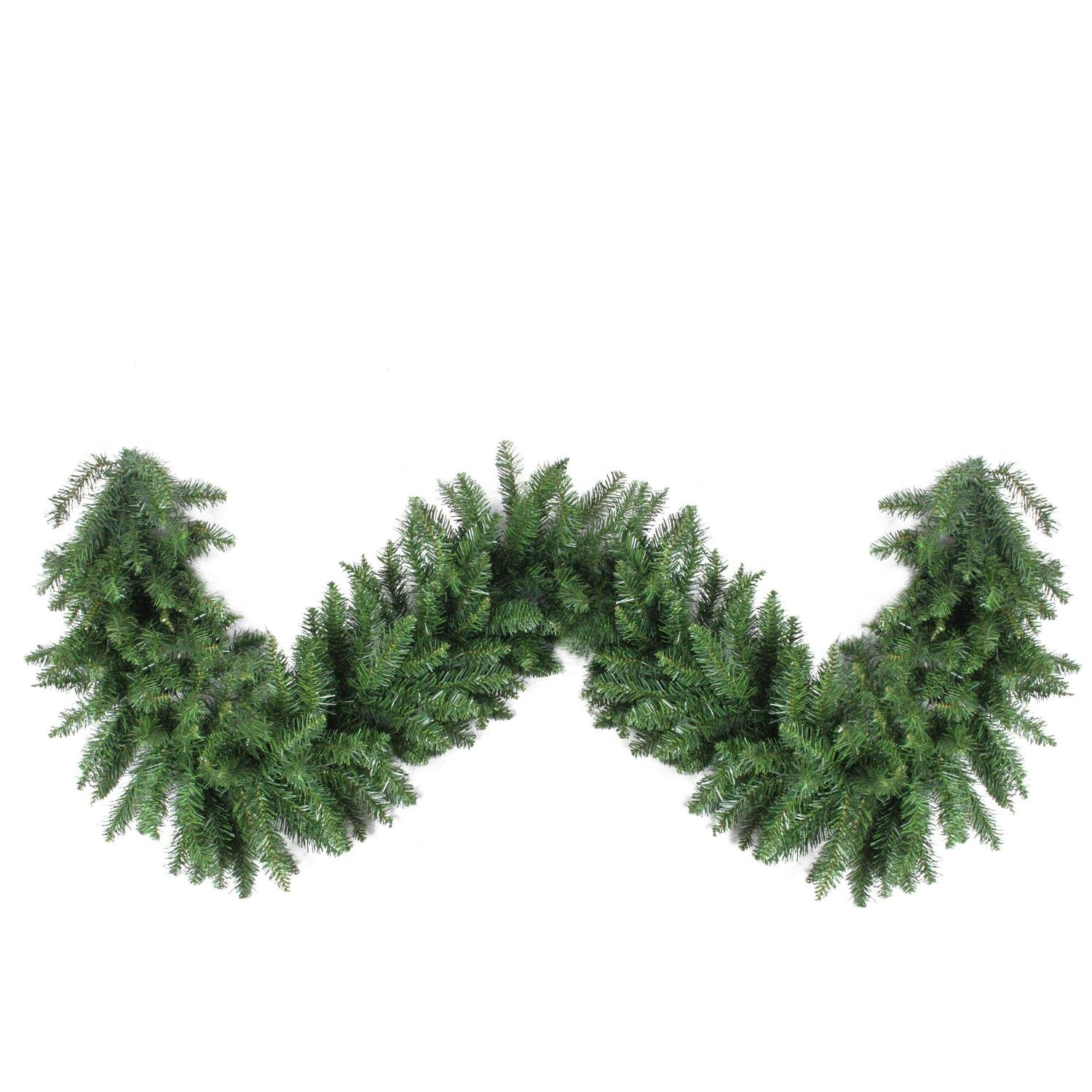 Northlight 50' x 16'' Buffalo Fir Commercial Length Artificial Christmas Garland-Unlit, Green