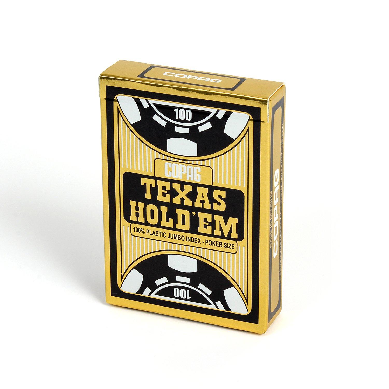 Copag Carte Poker Texas Hold'em Face Carte da Gioco, Gioco di ...