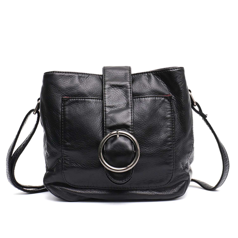 d5bc2a280edd Amazon.com: Cherryi Brand Candy Color Women Bag Wash Pu Leather ...