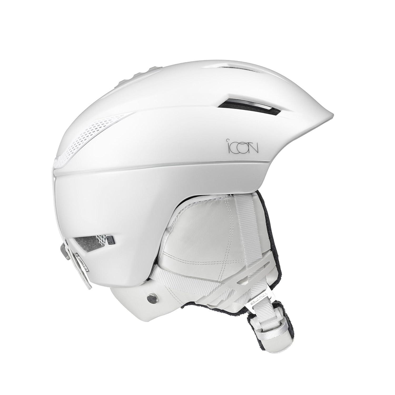Salomon Icon² C Casco de esquí y Snowboard para Mujer, Custom Air, Interior de Espuma EPS 4D, Circunferencia: 53-56 cm