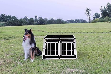 KMS FoxHunter - aluminio perro cachorro gato mascota jaula de la ...
