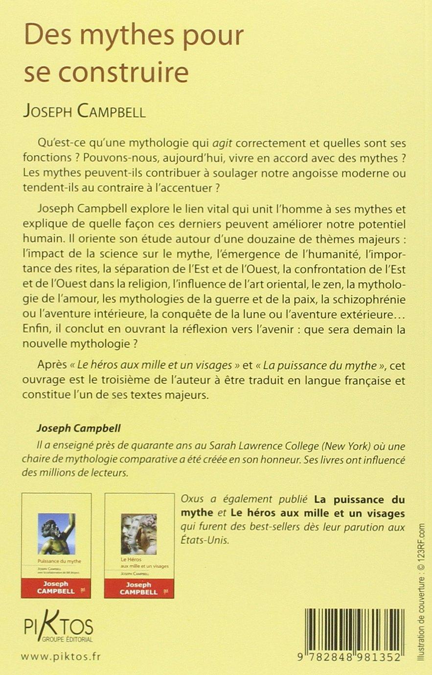 Des mythes pour se construire (French Edition): 9782848981352: Amazon.com: Books