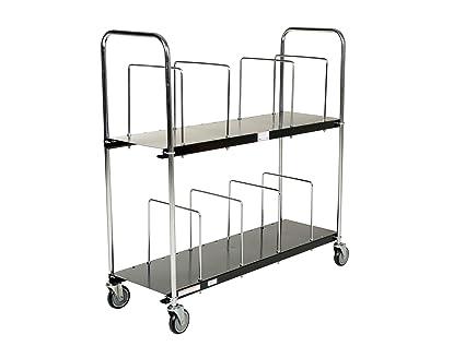 VESTIL CTPT-1844-CK Steel Carton Stand 44 x 18 x 30 4