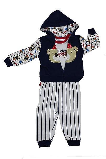 Amazon.com: Juego de ropa para bebés y niños de 3 piezas ...