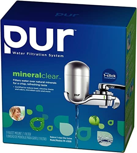 PUR FM-3800B Vertical Faucet Mount Water Filtration System