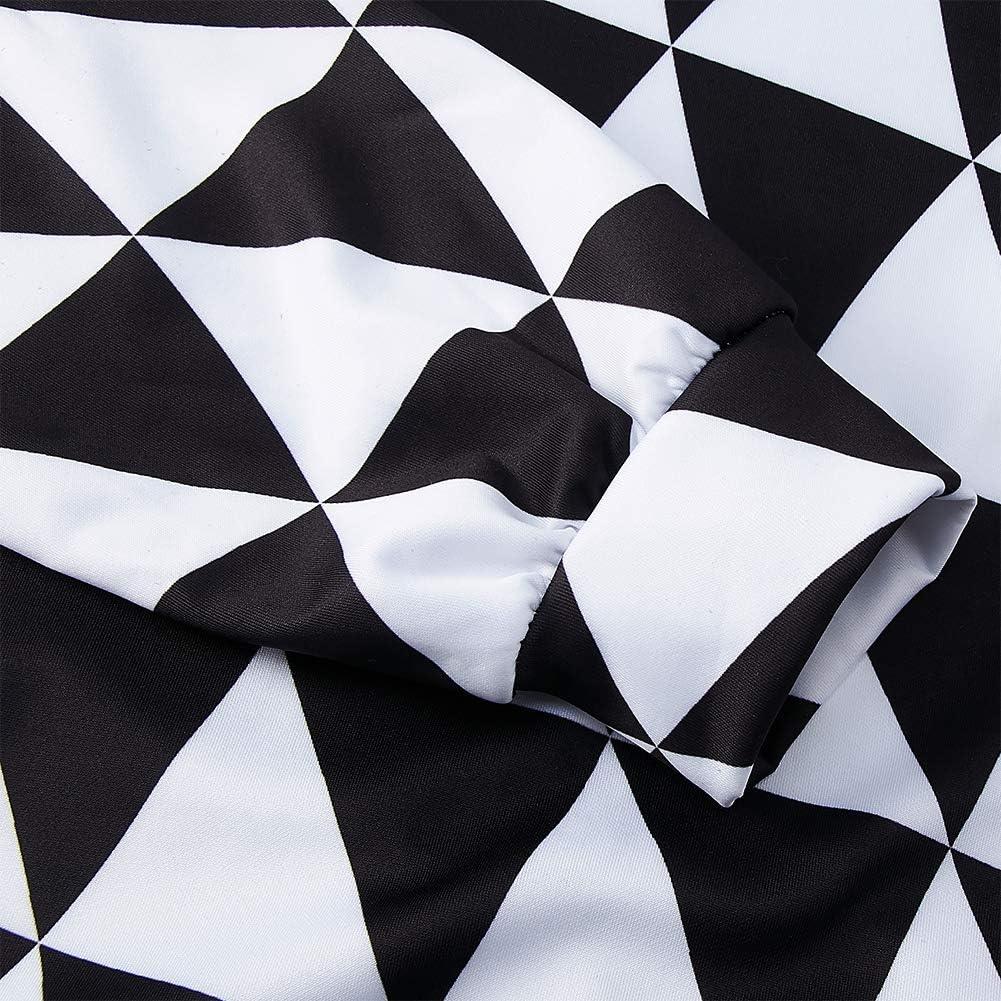chicolife Unisex Hoodie 3D Kapuzenpullover Langarm Sweatshirt mit Taschen f/ür Damen Herren,M-XXL