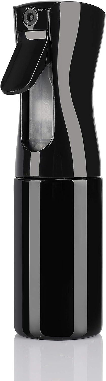 Botella Pulverizador Agua Peluqueria Fina Niebla Pulverizador Continuo Pulverizador Recargable Vacío spray Rizos pulverizar para Pelo Cara Plantas 160ml