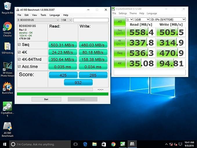"New Black Diamond Memory 512GB 2.5/"" 6G SATA III SSD with 3 years warranty"