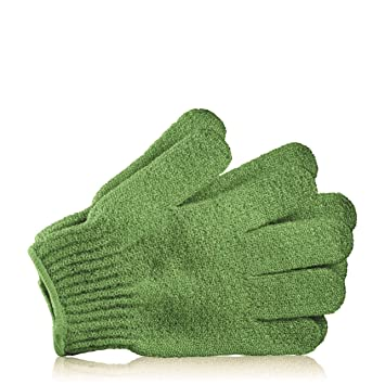 9ae1a0b47b84d Amazon.com : The Body Shop Bath Gloves, Green : Bath Mitts And Cloths :  Beauty