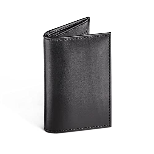 ee9a71cfabb Amazon.com: MORAL CODE Leather Card Case Oliver Black Leather One ...