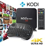 MXQ Pro 4K Ultra HD TV Box - KODI, Android 5.1, 64Bit Amlogic S905 Quad Core, H.265 4K Decoding