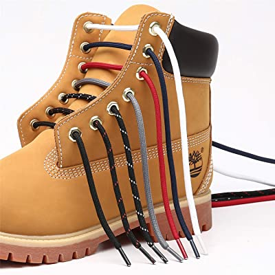 2 Pair 140cm work boot laces outdoor mountaineering hiking walking shoelaceHFMFS