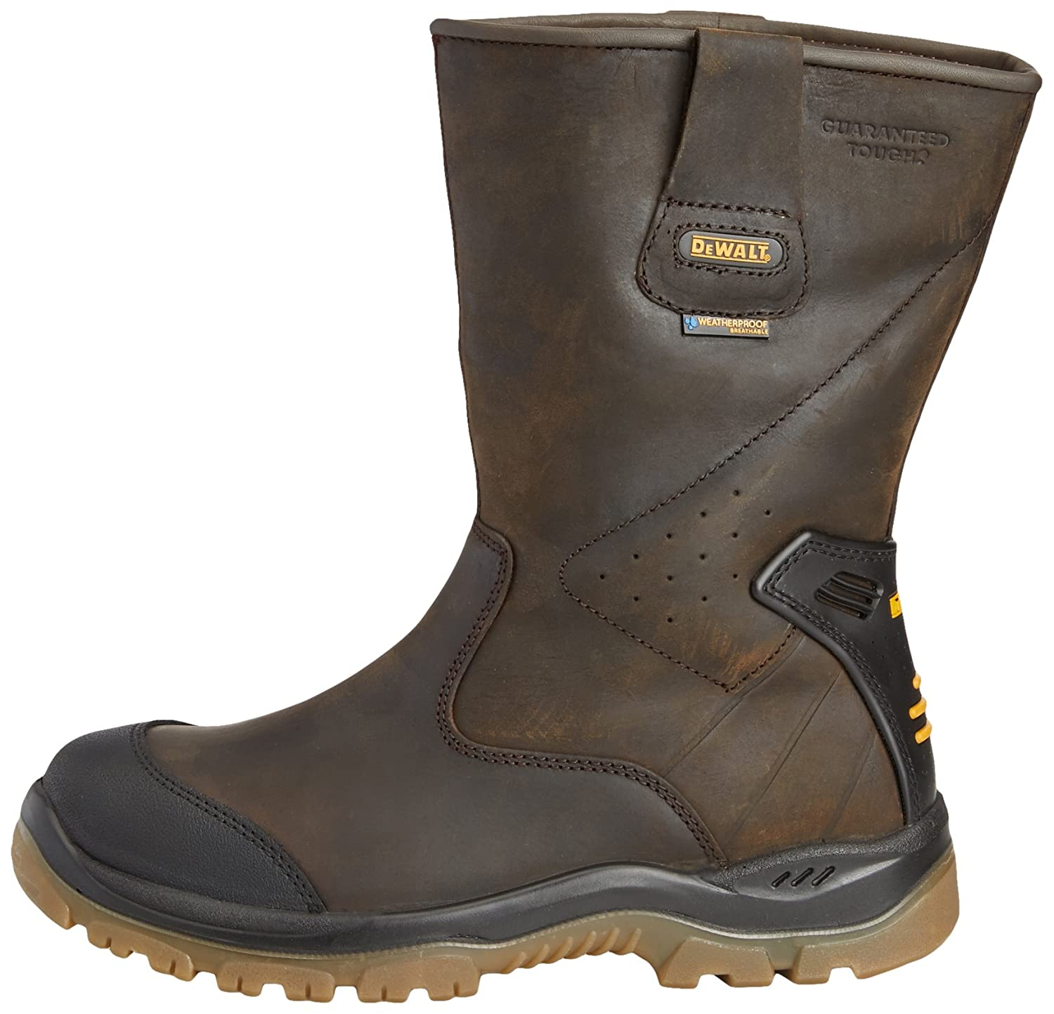 Apache AP305 Leather Work Rigger Boot Water Resistant SOCKS INCLUDED