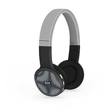 Auriculares inalámbricos con bluetooth STK Street Jam, negro y gris: Amazon.es: Electrónica