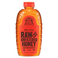 Nature Nate's 100% Pure, Raw & Unfiltered Honey; 40oz. Squeeze Bottle; Award-Winning Taste