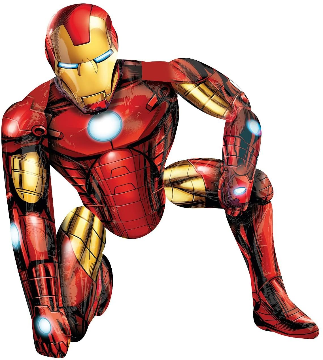 - Amazon.com: Anagram International Iron Man Air Walker, Multi-Color