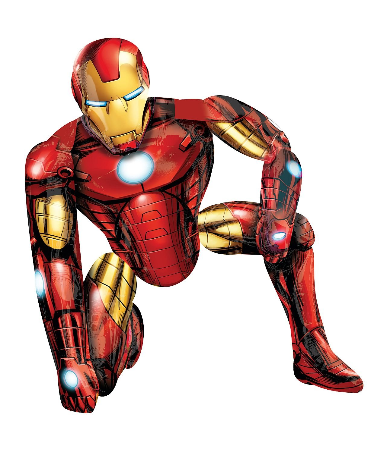 Anagram International Iron Man Air Walker, Multi-Color A11006201