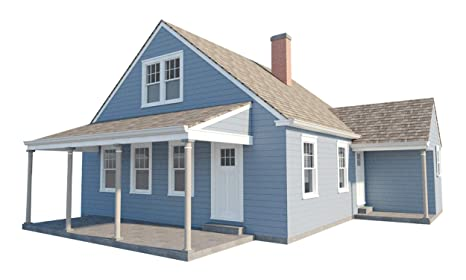3 Bedroom House Plans W Loft Diy Home Building Project Guest