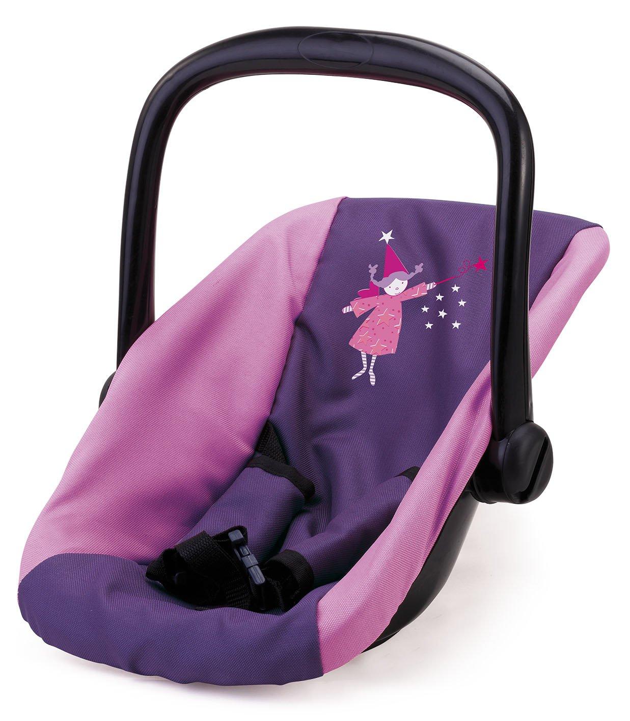 Bayer Chic 2000 708 25 Puppen-Autositz f/ür Babypuppen Lila
