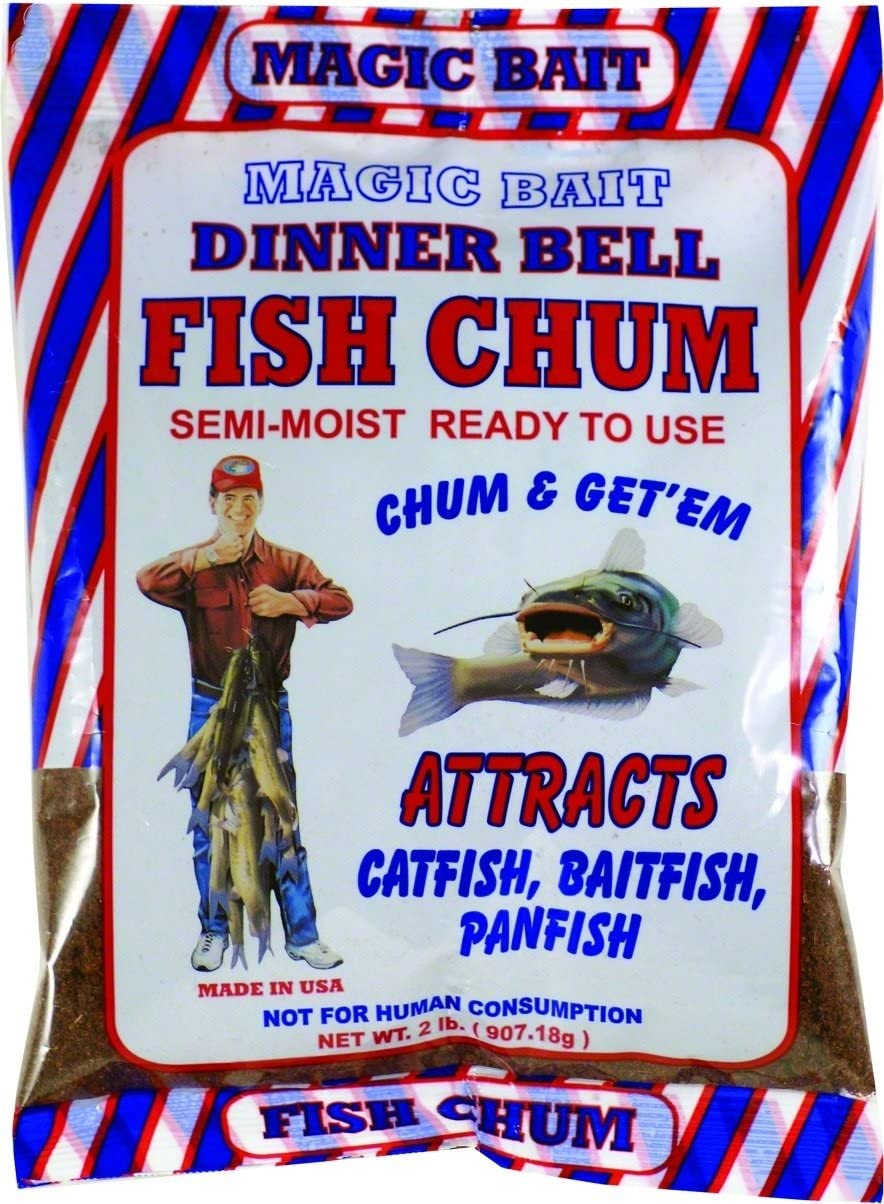 Magic 24-12 Dinner Bell Chum, 2-Pound