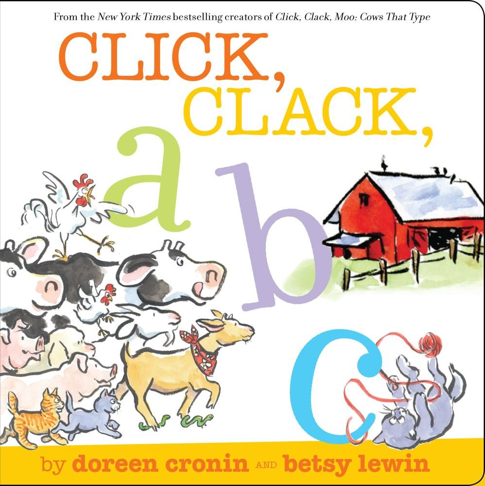 click clack abc a click clack book doreen cronin betsy