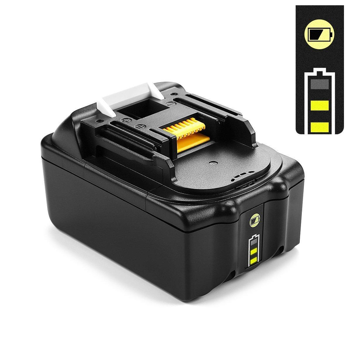 2x 18V 5.0Ah Reemplazo BL1850B Batería y cargador DC18RA para ...