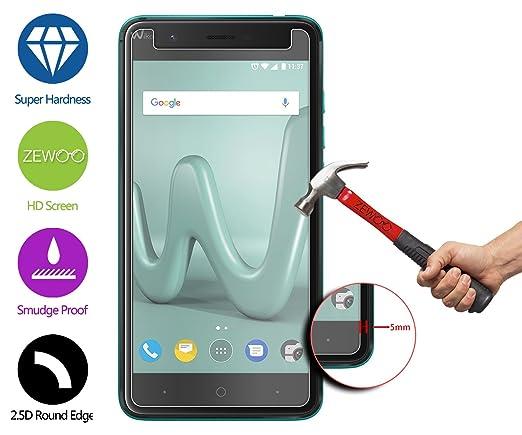 ZeWoo para Wiko Harry (5 Pulgadas) Protector de Pantalla Cristal Vidrio Templado Premium (9H *2,5D, 0,33mm): Amazon.es: Electrónica