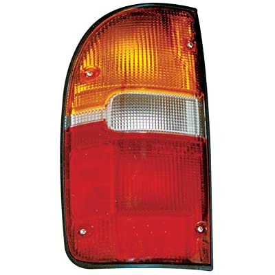 TYC 11-3070-00 Toyota Tacoma Driver Side Replacement Tail Light Assembly: Automotive
