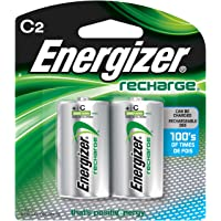 Energizer Recharge battery C2, pack of 2