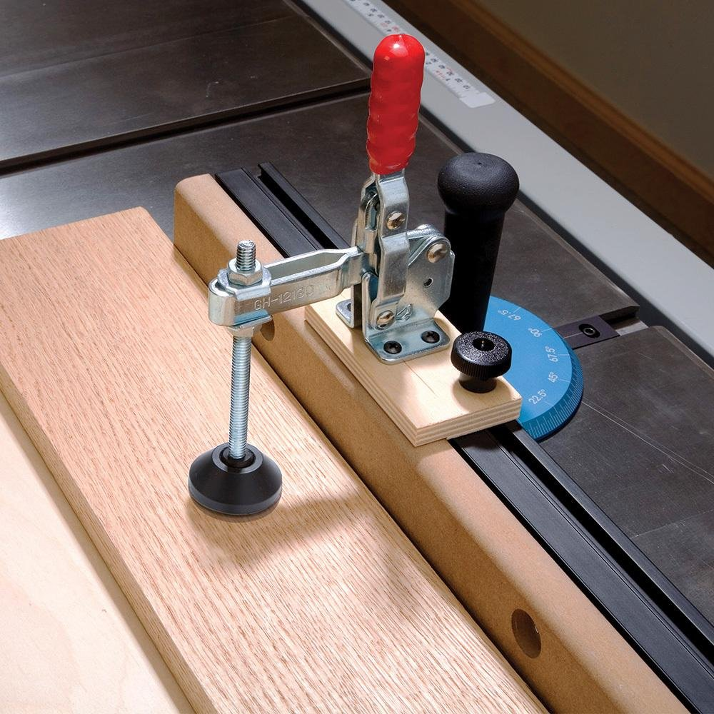 Large Toggle Clamp Foot 6 Long 6/'/' Long Rockler