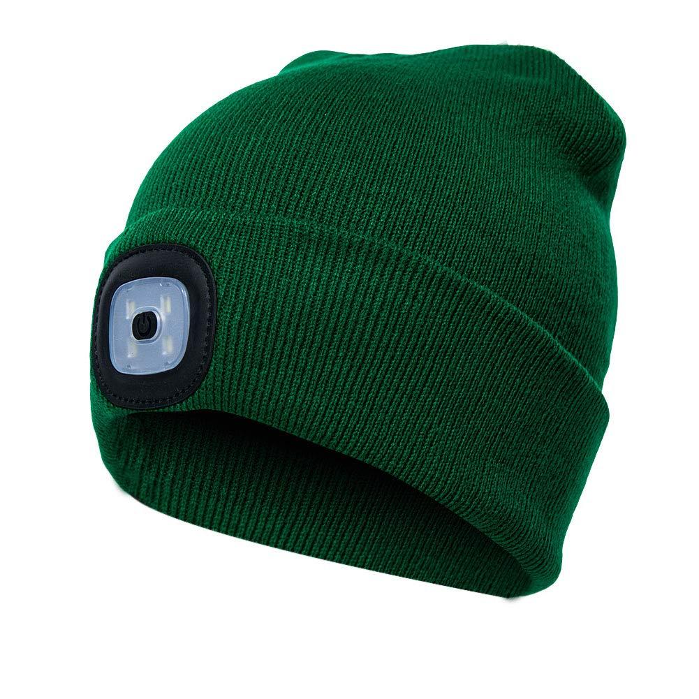 Amazon.com  4 LED Knit Hat 95d1dac2a32