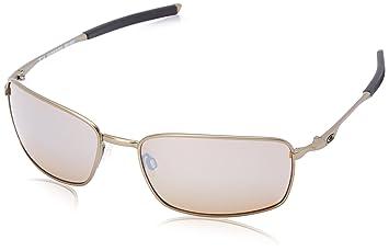 Oakley gafas de sol Titanium Square Wire OO6016-01 Titanium/titanio Iridio lente polarizada