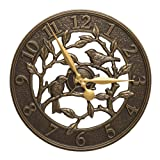 Whitehall 16 in. Traditional Wall Clock in French