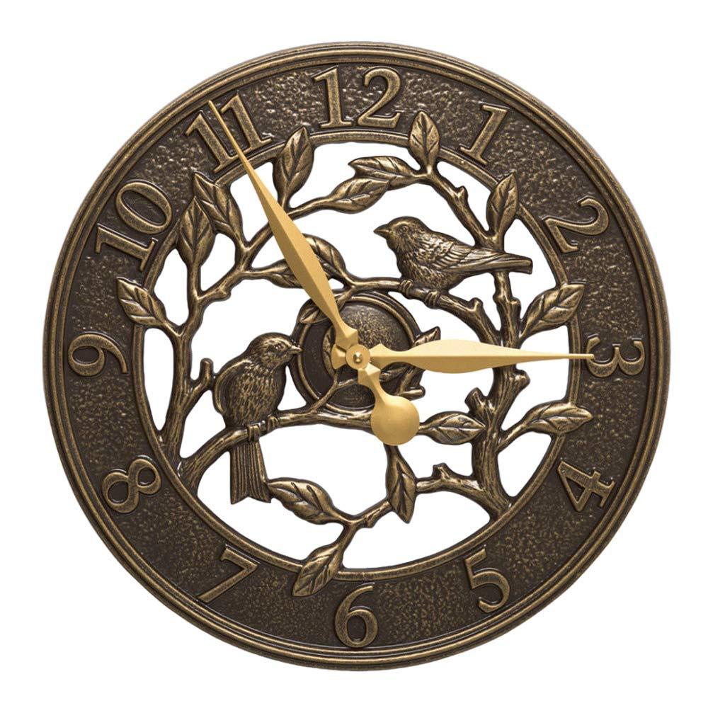 Whitehall Woodridge 16'' Indoor Outdoor Wall Clock