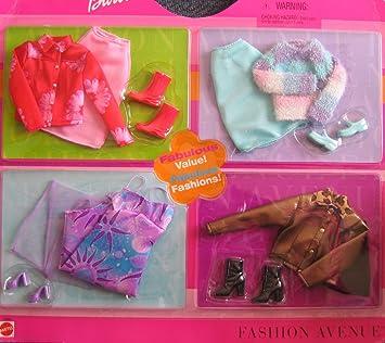 Barbie Sensational Styles Fashion Avenue Clothes   Fabulous Value! Fabulous Fashions! (2002) by Barbie