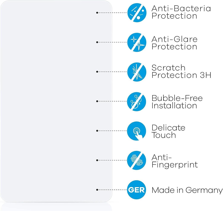 Anti-Trace Anti-Rayures upscreen Film Protection Mat Compatible avec Evoko Liso Protecteur /Écran Antibact/érien Anti-Reflet