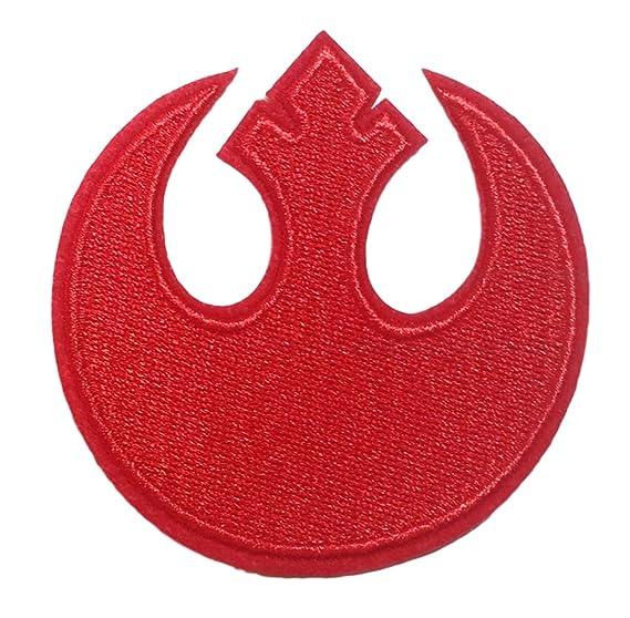 Amazon Star Wars Rebel Alliance Red Squardron Logo 3 Wide