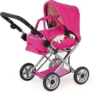 Amazon.es: Bayer - Maxi Pink, carrito de juguete para muñecas, 3 en 1(13929): Juguetes y juegos