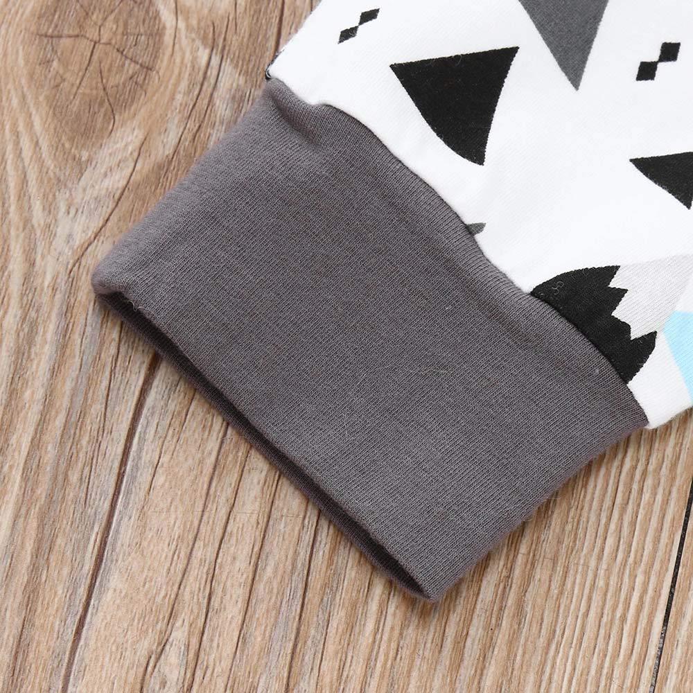 Conjuntos Bebe Niña Invierno, ❤ Zolimx Recién Nacido Bebé Niño Chico de Dibujos Animados Sudadera Camiseta Tops + Pantalones Trajes de Ropa: Amazon.es: ...