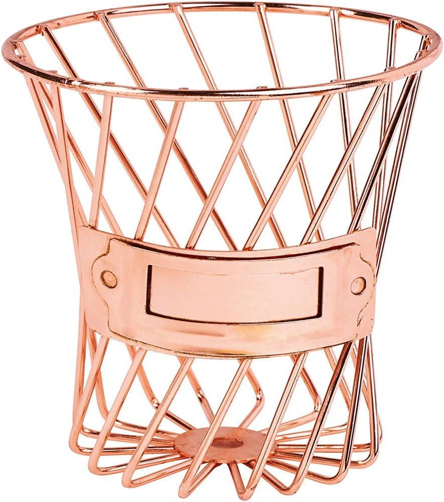 mallalah Vaso matita Oro Rosa Metallo per spazzola di trucco stile portaoggetti organizzatore Cesta Cosmetique sundrie di bagno ufficio cancelleria Fiore barile contenitore round unica oro rosa